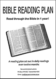 Bible Reading plan large